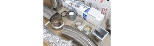 Židinių montavimo medžiagos