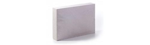 Dūju silikato blokai židinio konstrukivui