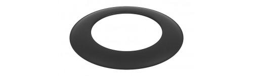 Dekoratyvinis žiedas juodas